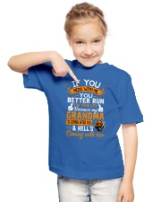 If You Mess With Me Youth T-Shirt lifestyle-youth-tshirt-front-2