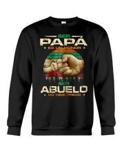 Ser Papa Ser Abuelo Crewneck Sweatshirt thumbnail