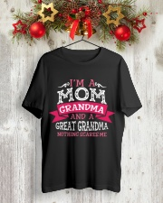 Great-Grandma Classic T-Shirt lifestyle-holiday-crewneck-front-2