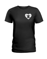 Son you are my missing piece Ladies T-Shirt front