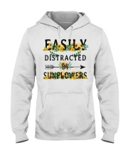 Easily distracted by sunflowers Hooded Sweatshirt thumbnail