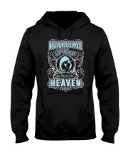 A Woman Who has A Son In Heaven Shirt Hooded Sweatshirt thumbnail