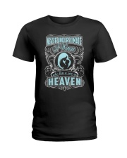 A Woman Who has A Son In Heaven Shirt Ladies T-Shirt tile
