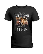 FUNNY HORSE MUG Ladies T-Shirt thumbnail