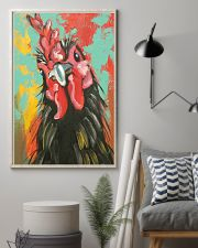 Chicken Art - Mother's day gift 11x17 Poster lifestyle-poster-1
