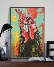 Chicken Art - Mother's day gift 11x17 Poster lifestyle-poster-2