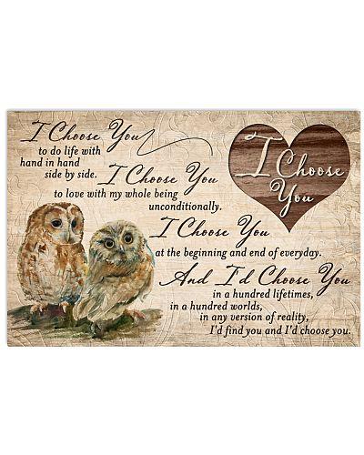 Owl - I Choose You Couple
