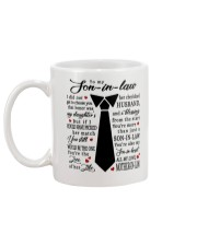 For Son-in-law - You're Also My Son-in-heart Mug back
