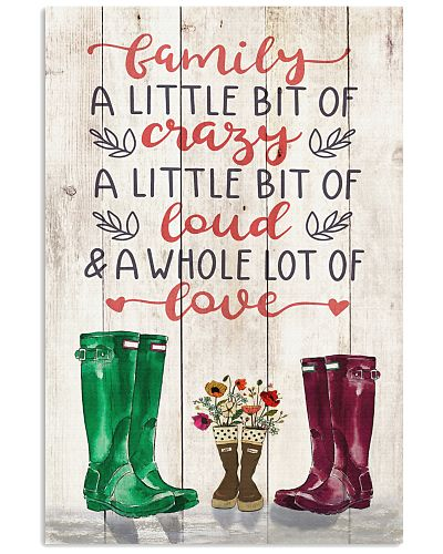 Family - Rain Boots - Family - Poster