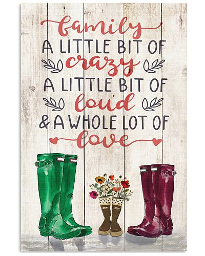 Family - Rain Boots - Family - Poster