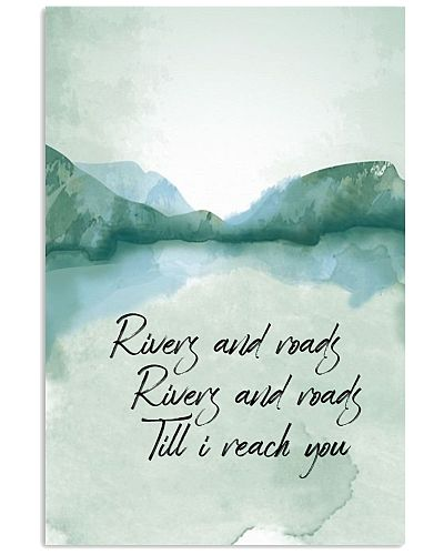 Camping - Rivers And Roads - Poster
