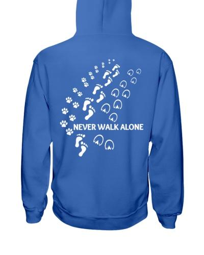 Horse Never Walk Alone Footprints