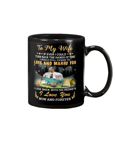 Camping - Turn Back The Hand Of Time - Mug