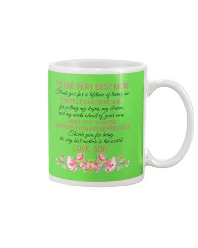 Son Mom - Best Mom - Mug