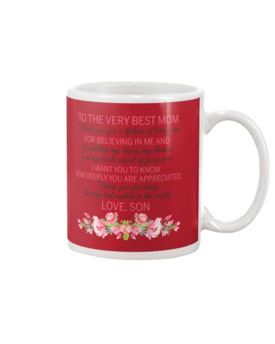 Son Mom - Best Mom - Mug