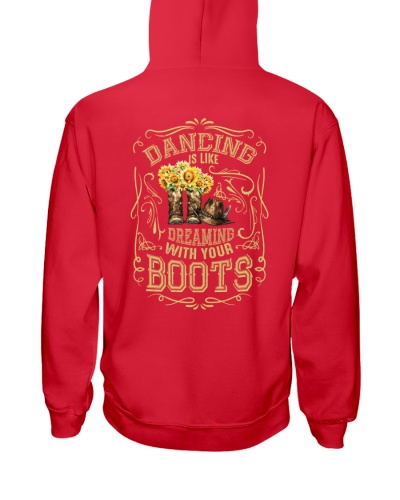 Dancing Is Like Dreaming With Your Boots
