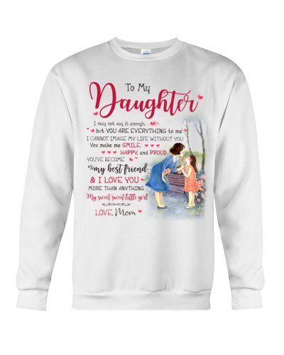 Mother Daughter - My sweet sweet little girl