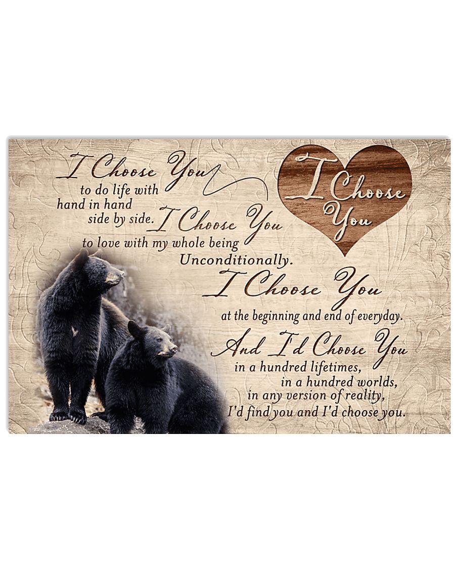 Hunting Black Bear - I Choose You 17x11 Poster