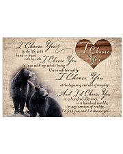 Hunting Black Bear - I Choose You 17x11 Poster front