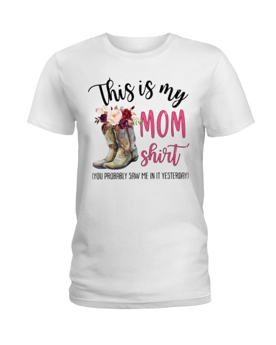 Country - This Is My Mom Shirt - Shirt