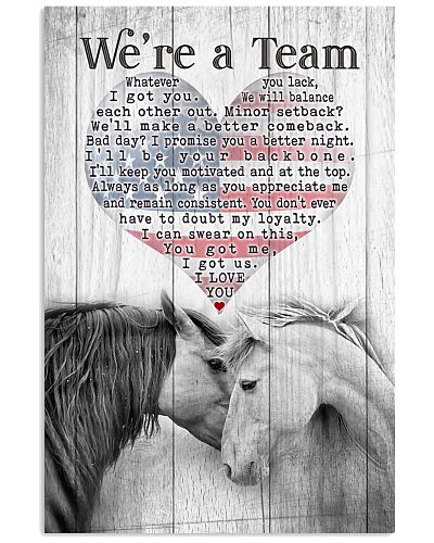 Horse - We're A Team Stripes