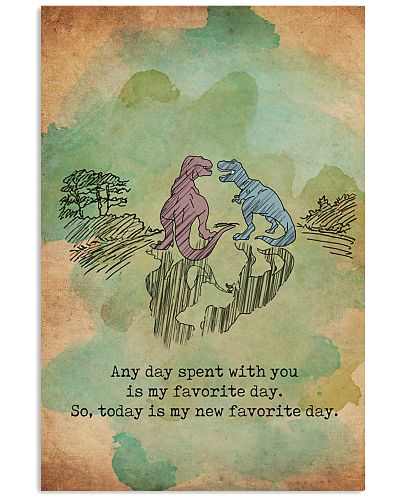 Dinosaur - Any Day Spent With you - Poster