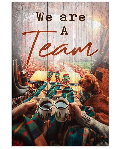 Camping - We're A Team Quote Only