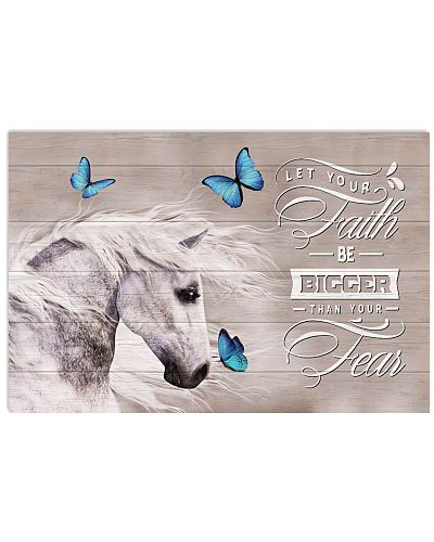Horse-Let Your Faith Be Bigger Than Your Fear V2