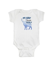 Hunting - My Aunt Loves Me Deerly - One Size Onesie front