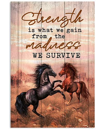 Horse - Strength Is What We Gain From Madness