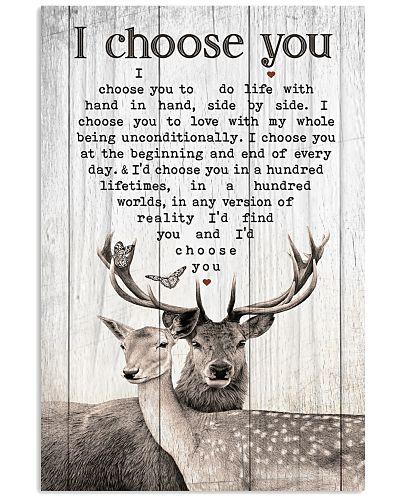 Couple Deer - I Choose You