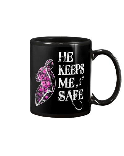 He Keeps Me Safe She Keeps Me Wild V2