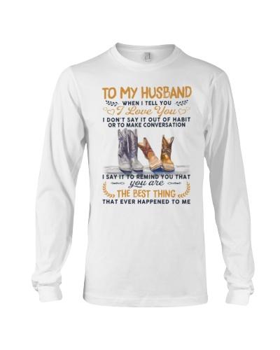 Husband Wife - When I Tell You I Love You