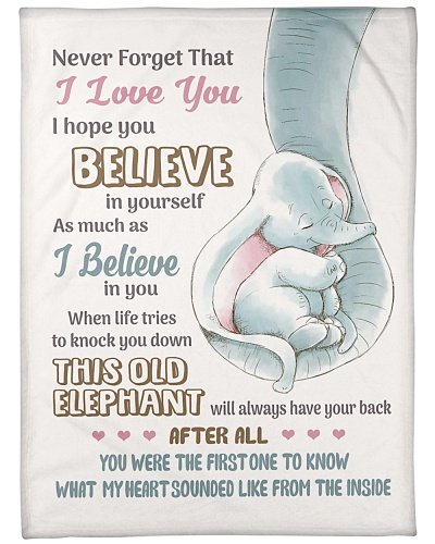 Never Forget That I Love You - This Old Elephant 1