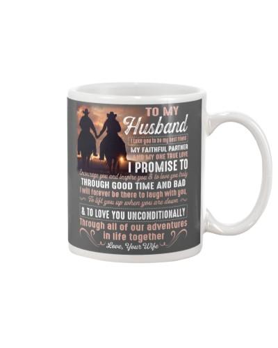 I Take You To Be - Husband Wife