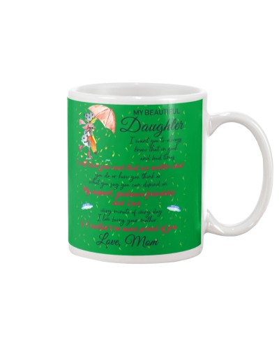 Daughter Mom - I Love Being Your Mother - Mug