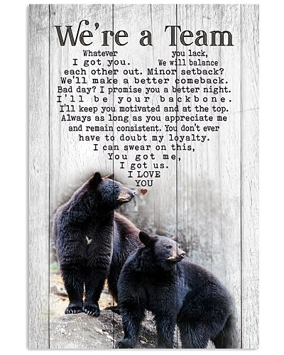 Hunting - Black Bear - We're A Team