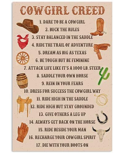 Cowgirl Creed