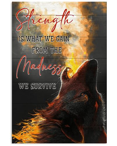 Wolf - Strength Is What We Gain From The Madness