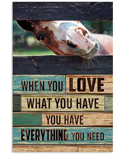Horse - When You Love What You Have 3D
