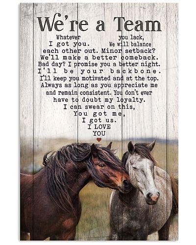 Horse - We're A Team