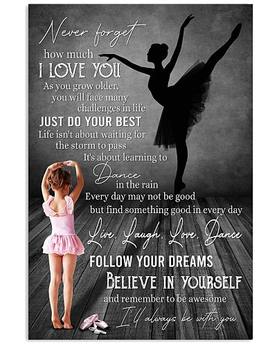 Ballet - Live Laugh Love Dance Gift For Daughter