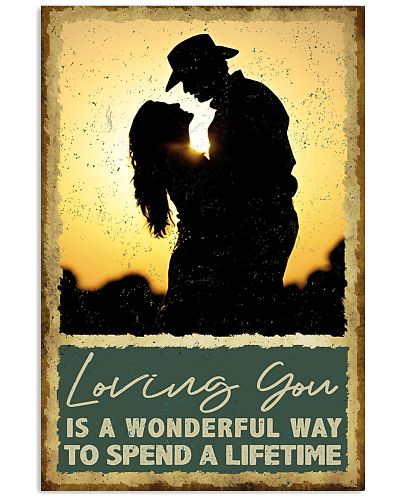 Country - Loving You Is A Wonderful - Poster