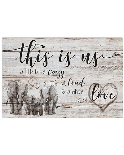 Elephant - Family This Is Us - Poster
