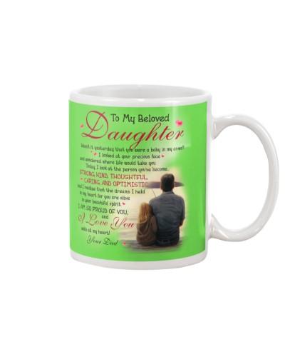 Daughter Dad - All My Heart - Mug