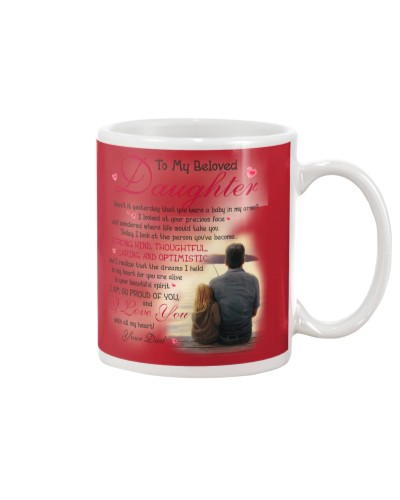 Daughter Dad - All My Heart - Mug