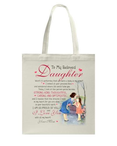 Daughter Mom - Beloved Daughter - Mug