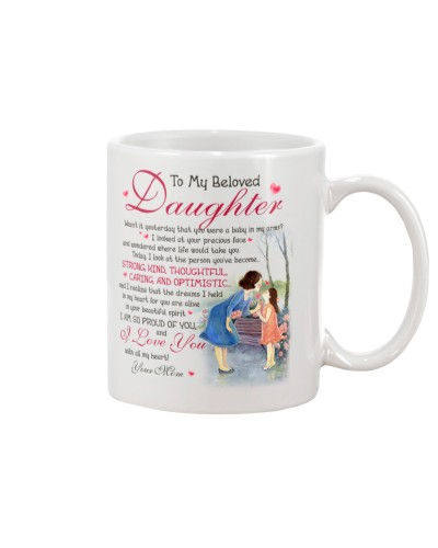 Daughter Mom - Beloved Daughter - Mug