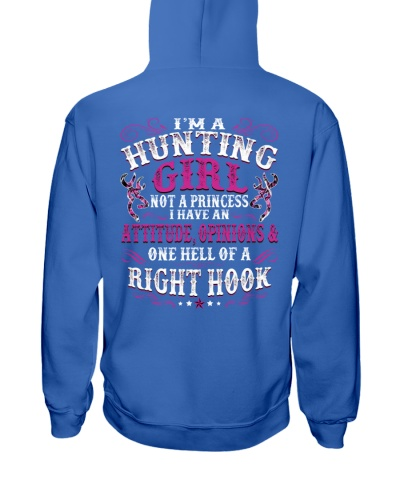 I'm A Hunting Girl I Have One Hell Of A Right Hook