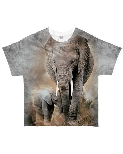 Elephant -3D - Full Shirt